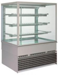 Витрина холодильная UNIS COOL GEORGIA 1000 SQ INOX